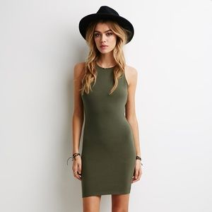 💛 (2 for $10) NWOT Green Bodycon Dress 🎁✨